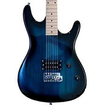 39 Inch BLUE Electric Guitar & Carrying Case & Accessories, (Guitar, Whammy Bar, Strap, Cable, Strings, & DirectlyCheap(TM) Translucent Blue Medium Guitar Pick) PRO-EG Series
