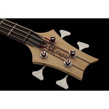 PRS KR4NA SE Kingfisher Bass Guitar, Natural