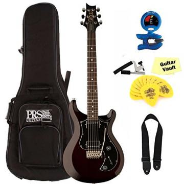 PRS S2 Standard 22 Satin,Dots, Vintage Mahogany With Gig Bag and guitarVault Accessory Pack