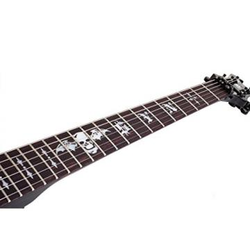 Schecter Synyster Gates Standard Electric Guitar (Gloss Black,Pin Stripe)