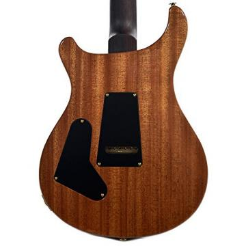 PRS CME Wood Library Custom 24 10 Top Quilt Black Gold w/Pattern Regular Neck