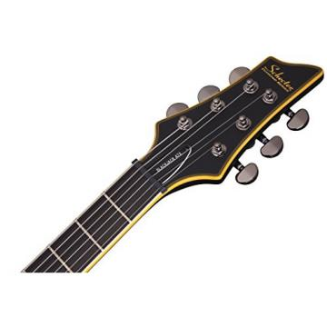 Schecter Blackjack ATX C-1 Electric Guitar (Aged Black Satin)