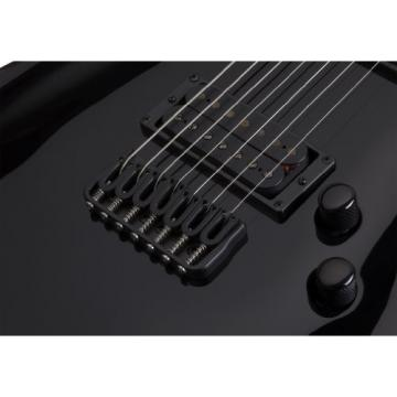 Schecter 2164 Blackjack C-7 BLK Left Handed Electric Guitars
