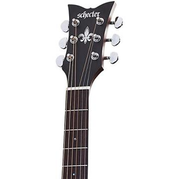 Schecter 3715 Acoustic Guitar, Natural Satin