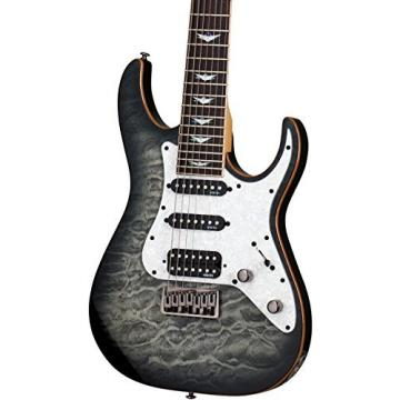 Schecter Guitar Research Banshee-7 Extreme 7-String Electric Guitar Charcoal Burst