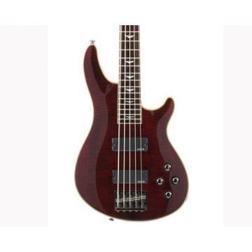 Schecter Omen Extreme-5 Bass Guitar (Black Cherry)