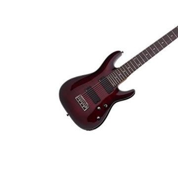 Schecter Damien Elite 8 Crimson Red Burst