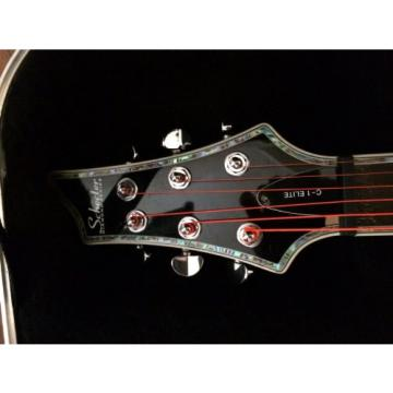 Schecter C1 Elite Electric Guitar (Black)
