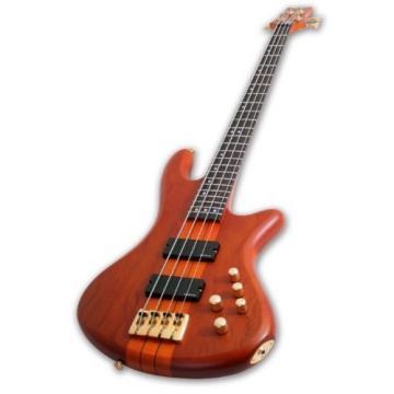 Schecter Stiletto Studio-4 Electric Bass (4 String, Honey Satin)