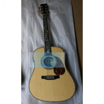 Custom Natural Martin D45v Tree of Life Inlay Guitar