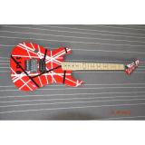 Custom Built EVH 5150 Red White Black Stripe Kramer Electric Guitar