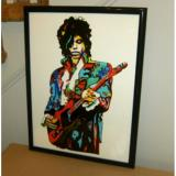 Custom Prince Abstract 36 Inch Hand Painted Oil Painting Canvas - Frame Not Included