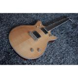 Custom Shop Maple Wood Gretsch G6131MYF Malcolm Young II Guitar Flame Maple Top