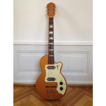Custom Kay electric solid body guitar with 2 pickups 1954 Bronze