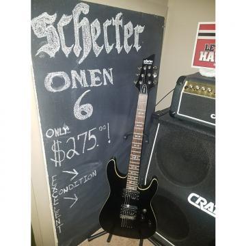 Custom SCHECTER  OMEN -6   Gloss Black