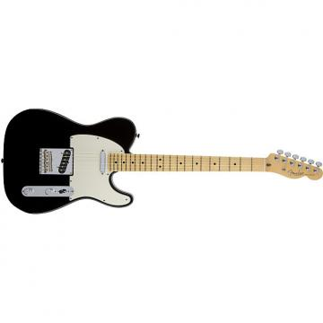 Custom Fender American Standard Telecaster® Maple Fingerboard Black - Default title