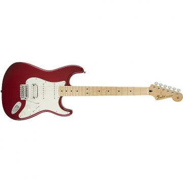 Custom Fender Standard Stratocaster® HSS Maple Fingerboard, Candy Apple Red - Default title