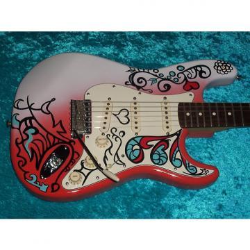 Custom Jimi Henderix Monterey Pop Fest Fender Stratocaster Strat California Series USA American no standard