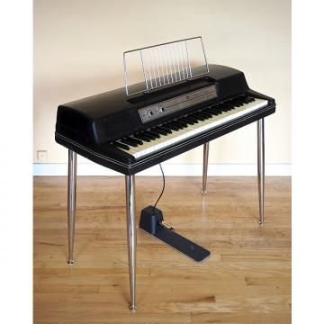 Custom 1977 Wurlitzer 200A Vintage Electric Piano Black 200 w/ Legs & Pedal, Serviced!
