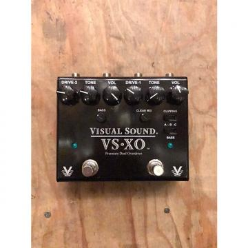 Custom Visual Sound VSXO Premium Dual Overdrive Black