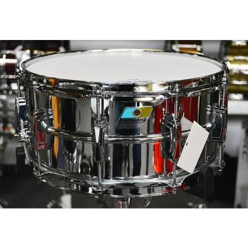 """Custom Ludwig Supraphonic LM402 6.5""""x14"""" Snare Drum - Blue and Olive badge"""