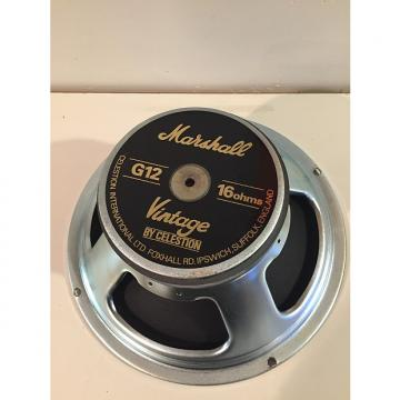 Custom Celestion Marshall  Vintage 30 16ohm free ship Black / Silver