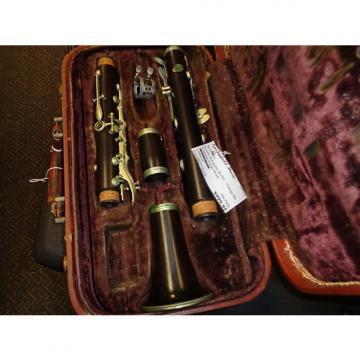 Custom vintage Evette Schaeffer Buffet-Crampon Paris wooden clarinet AS IS For parts or repair project