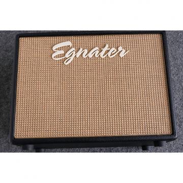 Custom Egnator Tweaker 112x 1x12 Speaker Cabinet with Celestion Greenback 2015 Black / Beige