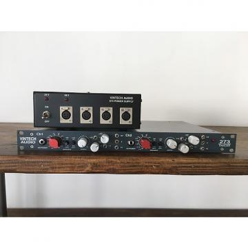 Custom Vintech Audio 273 Dual Preamp With Power Supply
