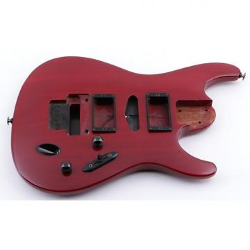 Custom 1994 Ibanez Japan S470 Transparent Red Mahogany Guitar Body BD-4745