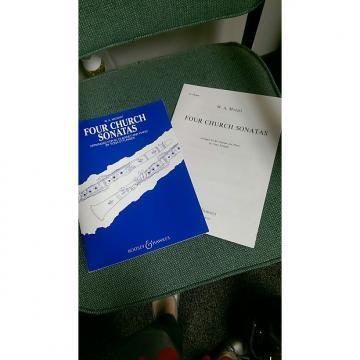Custom Clarinet -Four Church Sonatas W.A. Mozart Boosey & Hawkes Clarinet and Piano