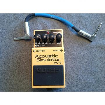 Custom Boss Boss acoustic simulator ac-2 pedal