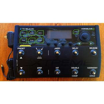 Custom TC Helicon Voice live 3 Extreme Black