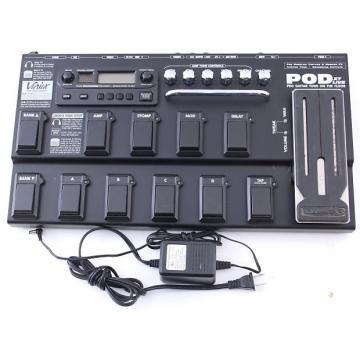 Custom Line 6 Pod XT Live Multi-Effects Pedal & Power Supply PD-4001