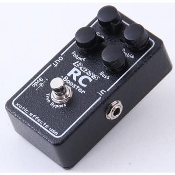 Custom Xotic Bass RC Booster Overdrive Guitar Effects Pedal PD-4012
