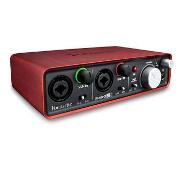 Custom Focusrite Scarlett 2i2 2014 Red