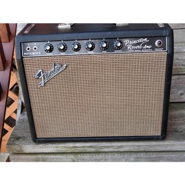 Custom Fender Princeton Reverb 1966 black