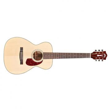 Custom Guild M-140 Westerly Concert Spruce Mahogany Acoustic Guitar Natural + Case