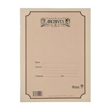 Custom Archives Spiral Bound Manuscript Paper Book, 10 Stave, 48 Pages