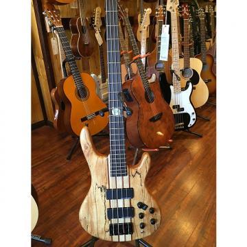 Custom 2017 Wolf Spalt4 Satin Spalt Maple 4 String Active/Passive Bass