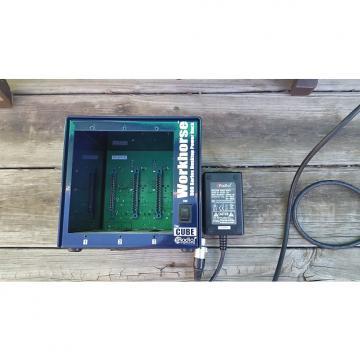 Custom Radial Workhorse Cube 3 slot 500 series rack  Blue