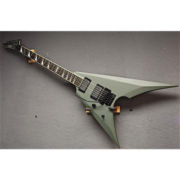 Custom ESP LTD Left Handed Arrow-401 2017 Military Green Satin Lefty Guitar
