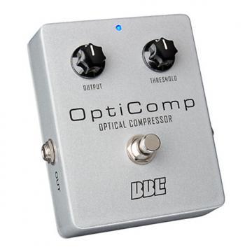 Custom BBE Opti Comp OC-5 Optical Compressor Pedal for Bass
