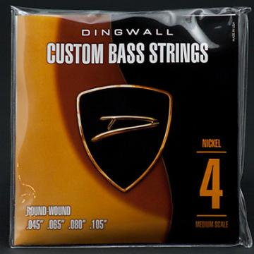 Custom Dingwall nickel string set for 4 string basses