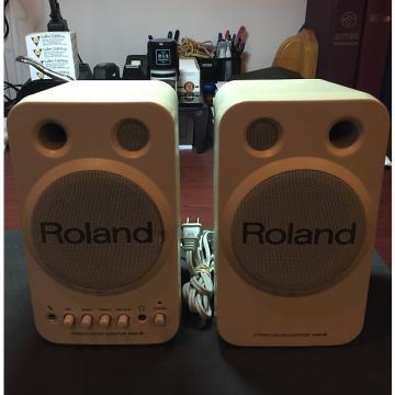 Custom Roland Corporation MA-8 Stereo Micro Monitor Cream