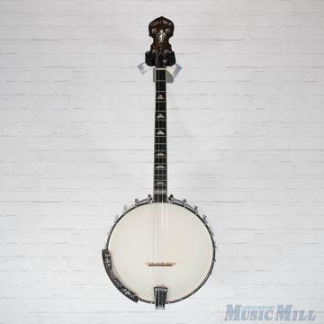 Custom Gold Tone IT-250 Irish Tenor Banjo Vintage Brown w/Bag