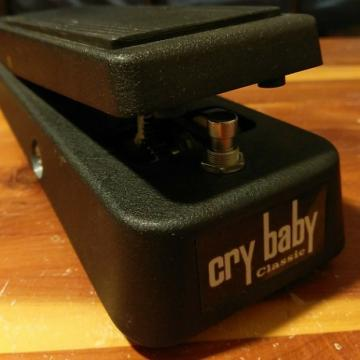 Custom Dunlop GCB-95F Cry Baby Classic Fasel recent Black