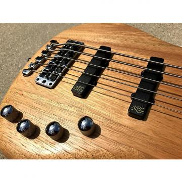 Custom 2009 Warwick Corvette 5-String RockBass Five Natural Satin Bass Guitar Active 2 band preamp