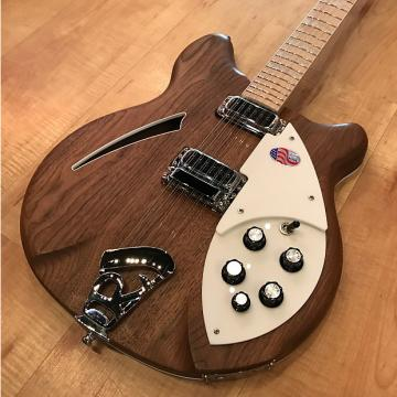 Custom Rickenbacker 360 12-string Electric Guitar 2017 Natural