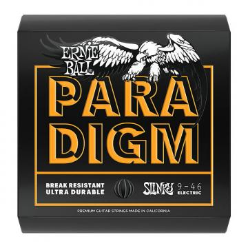 Custom Ernie Ball 2022 Paradigm Electric Guitar Strings, Hybrid Slinky (9-46)